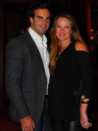 Letícia Birkheuer e o marido Alexandre Furmanovich