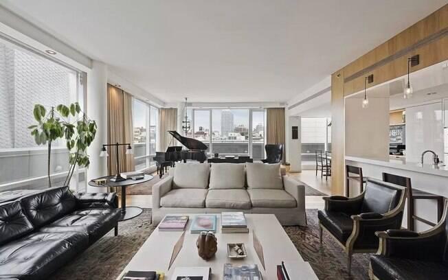 O apartamento foi adquirido por Justin Timberlake em 2010 e, na época, o cantor pagou R$ 21 milhões no imóvel