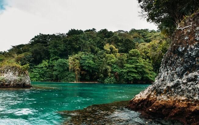 A Blue Lagoon, onde foi gravado o clássico