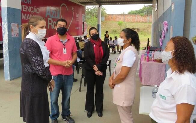 Hospital de Amor promove conscientização da saúde da mulher