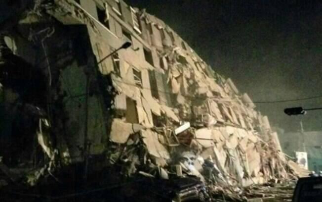 Forte terremoto mata dezenas em Taiwan