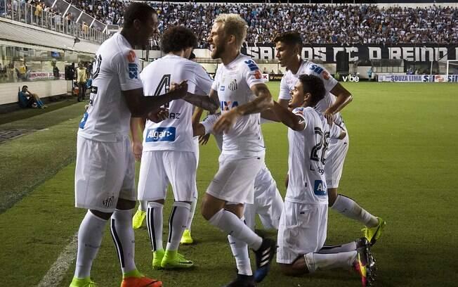O Santos aplicou a última goleada por seis gols já em 2017, contra o Linense. Rodrigão e Lucas Lima marcaram