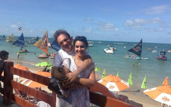 Moacyr Franco e Pâmela Noronha