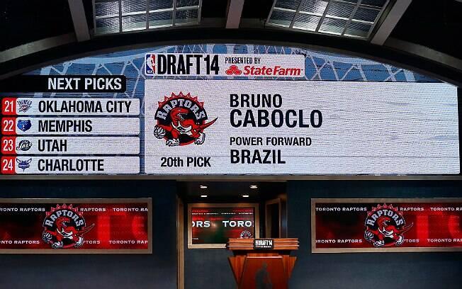 Draft da NBA aconteceu no último dia 26, em Nova York. O brasileiro Bruno Caboclo foi escolhido