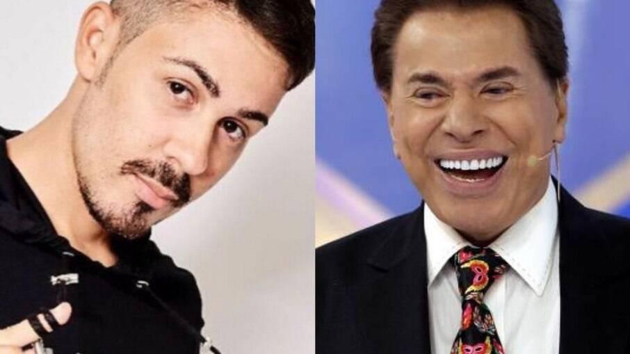 Carlinhos Maia e Silvio Santos