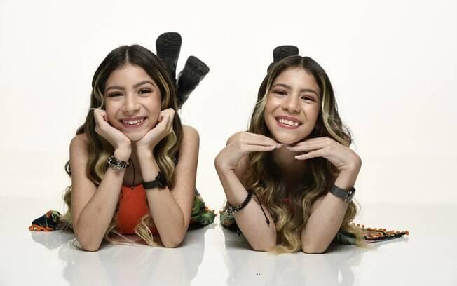 As irmãs Melissa e Nicole