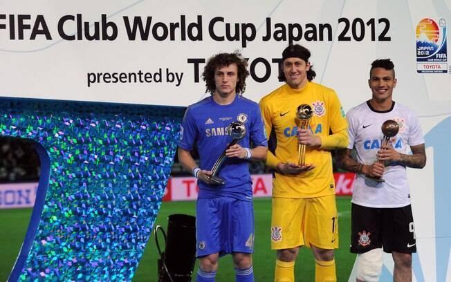 Guerrero, Cassio e David Luiz levaram prêmios  individuais no Mundial de Clubes