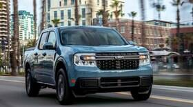 Picape Ford Maverick híbrida pode fazer uma média de 15,7 km/l