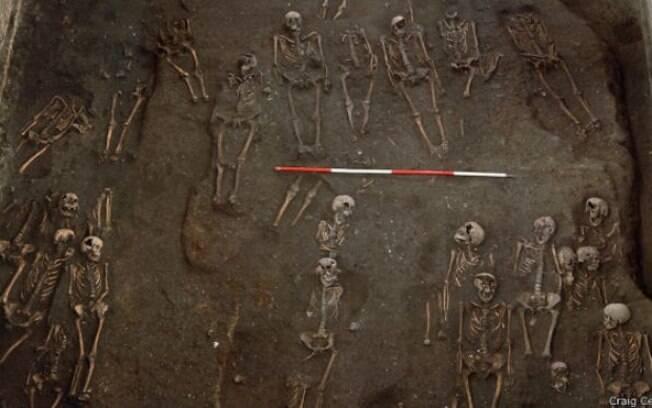 Mais de 400 esqueletos foram encontrados