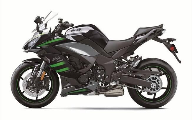 Kawasaki Ninja 1000 SX. Foto: Divulgação
