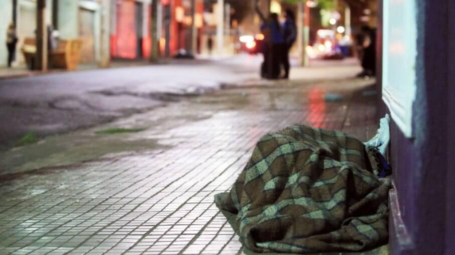 Sete moradores de rua morreram na madrugada mais fria de São Paulo desde 2016