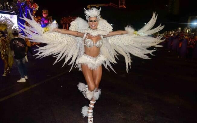 Thaila Ayala é uma das musas da Gaviões da Fiel. Foto: AgNews