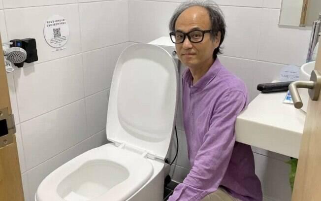 Vaso sanitário transforma fezes em energia