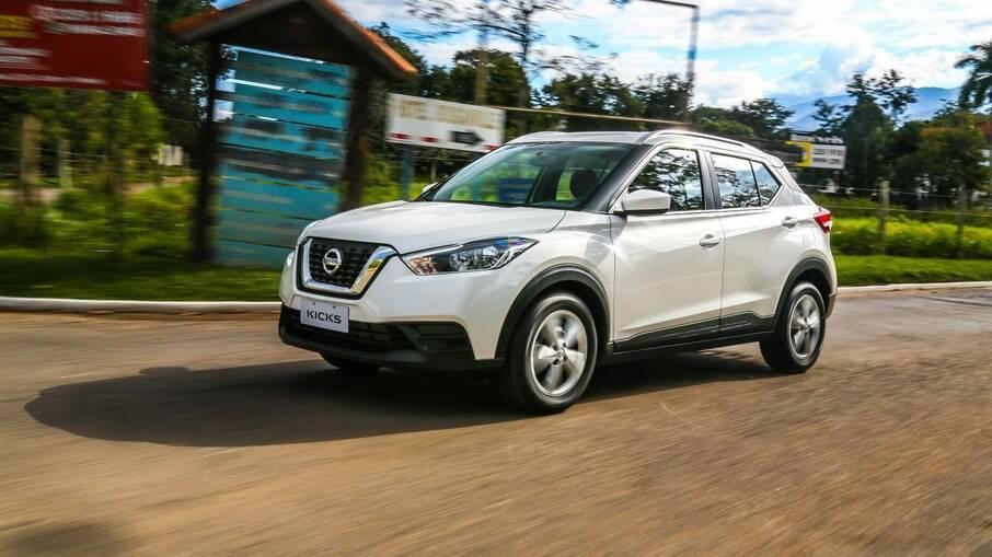 Nissan Kicks é boa opção automática entre os SUVs compactos com os maiores porta-malas
