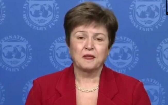 Kristalina Georgieva, diretora-gerente do FMI