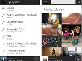 Spotify é serviço de música com versões grátis e paga para iOS, Android e Windows Phone