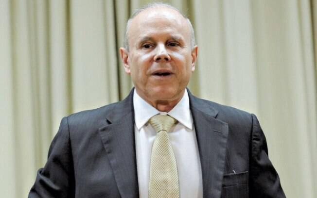 O ex-ministro da Fazenda, Guido Mantega: condução coercitiva o obrigou a prestar depoimento