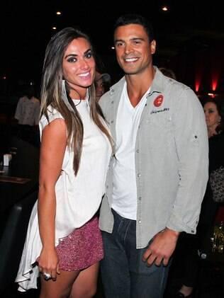 Nicole Bahls e Gustavo Salyer: apesar dos indícios, eles negam namoro