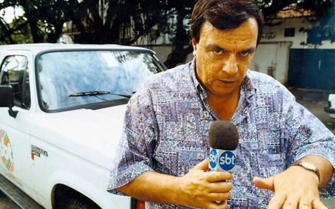 Gil Gomes, conhecido por suas reportagens policias no