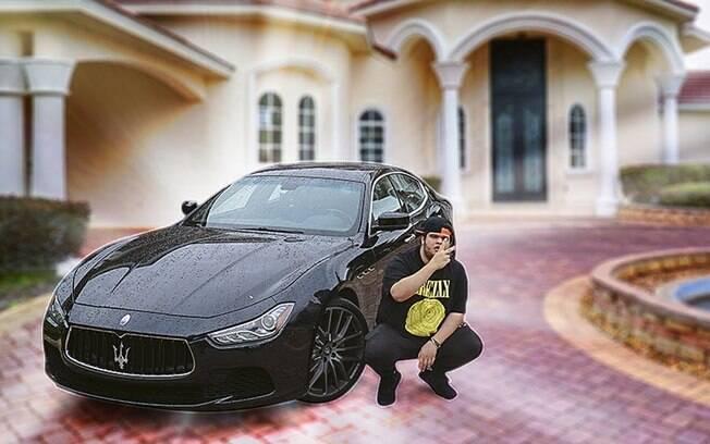 Abrimos a lista dos carros dos youtubers com o Maserati Ghibli de EduKof. Sedã italiano tem, 330 cavalos de potência