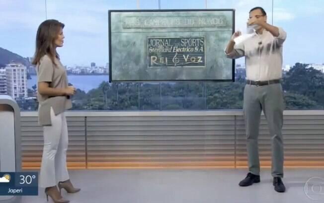 Edmilson Ávila rasga projeto que muda o nome do Maracanã