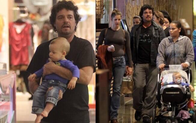 Felipe Camargo: programa em família