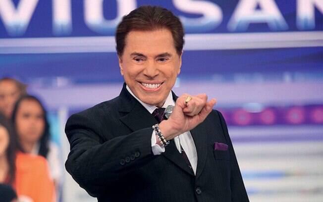 Silvio Santos, dono e apresentador do SBT