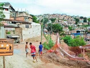 Em construção. Avenida ligará o bairro Serra ao interior do aglomerado