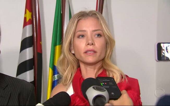 Najila Trindade, modelo que acusa Neymar de estupro