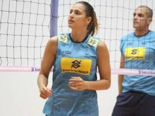 Dani Lins é uma das líderes da atual seleção brasileira