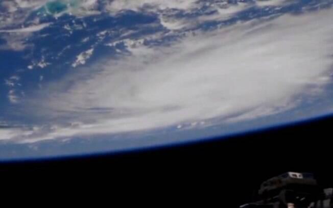 O furacão Dorian visto da Estação Espacial Internacional (ISS)