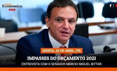iG entrevista Márcio Bittar, o relator do Orçamento de 2021