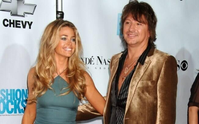 Denise Richards e Richie Sambora em 2007. Casal está junto novamente