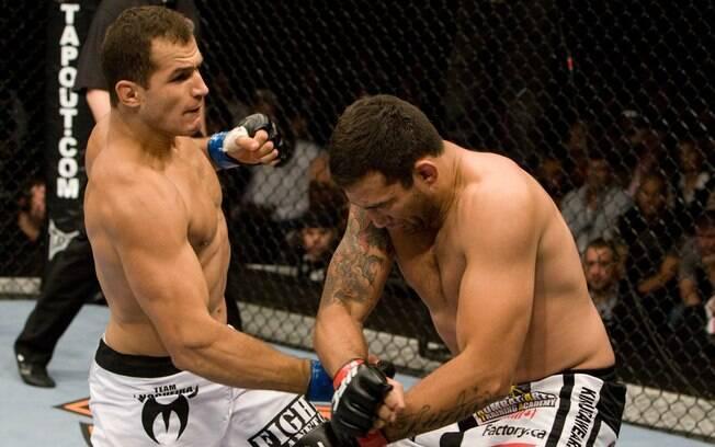 Desconhecido do público, Cigano estreou no  UFC contra o experiente Fabrício Werdum