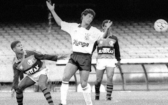 Corinthians e Flamengo duelaram na Supercopa do Brasil de 1991