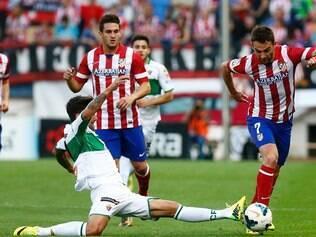 Atlético de Madrid enfrentou um time fechado, mas manteve pressão e foi recompensado
