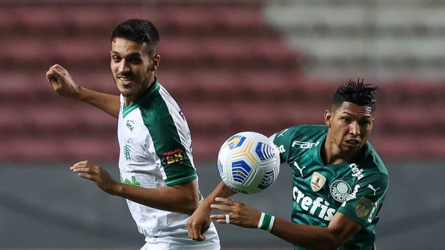 América-MG vence o Palmeiras e se distancia do Z-4