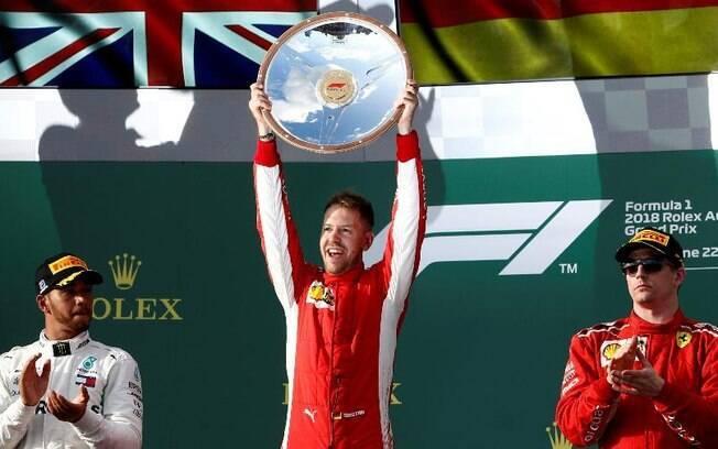 Vettel vence GP da Austrália