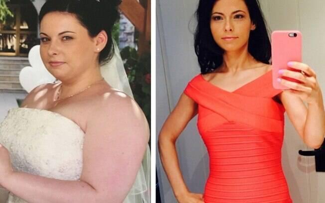 Donna perdeu 45 kg ao eliminar açúcar de seu cardápio.