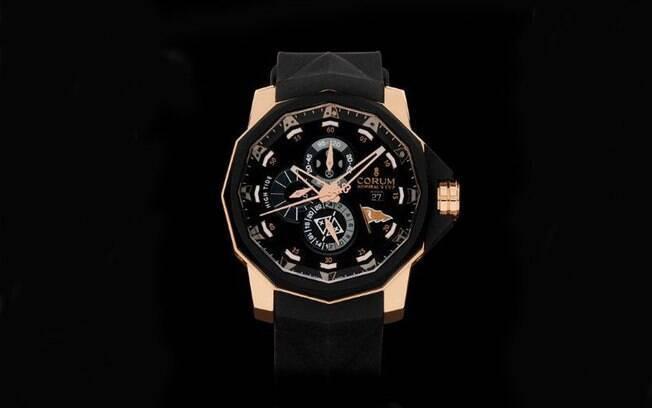 64794681b3e A edição com apenas 65 relógios Corum numerados está disponível em duas  versões  ouro rosa