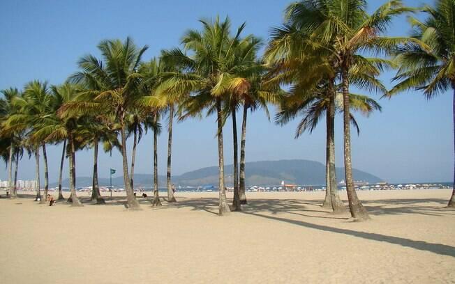 A Praia do Gonzaga é uma das mais populares e bem conservadas praias de Santos, com águas calmas para as famílias