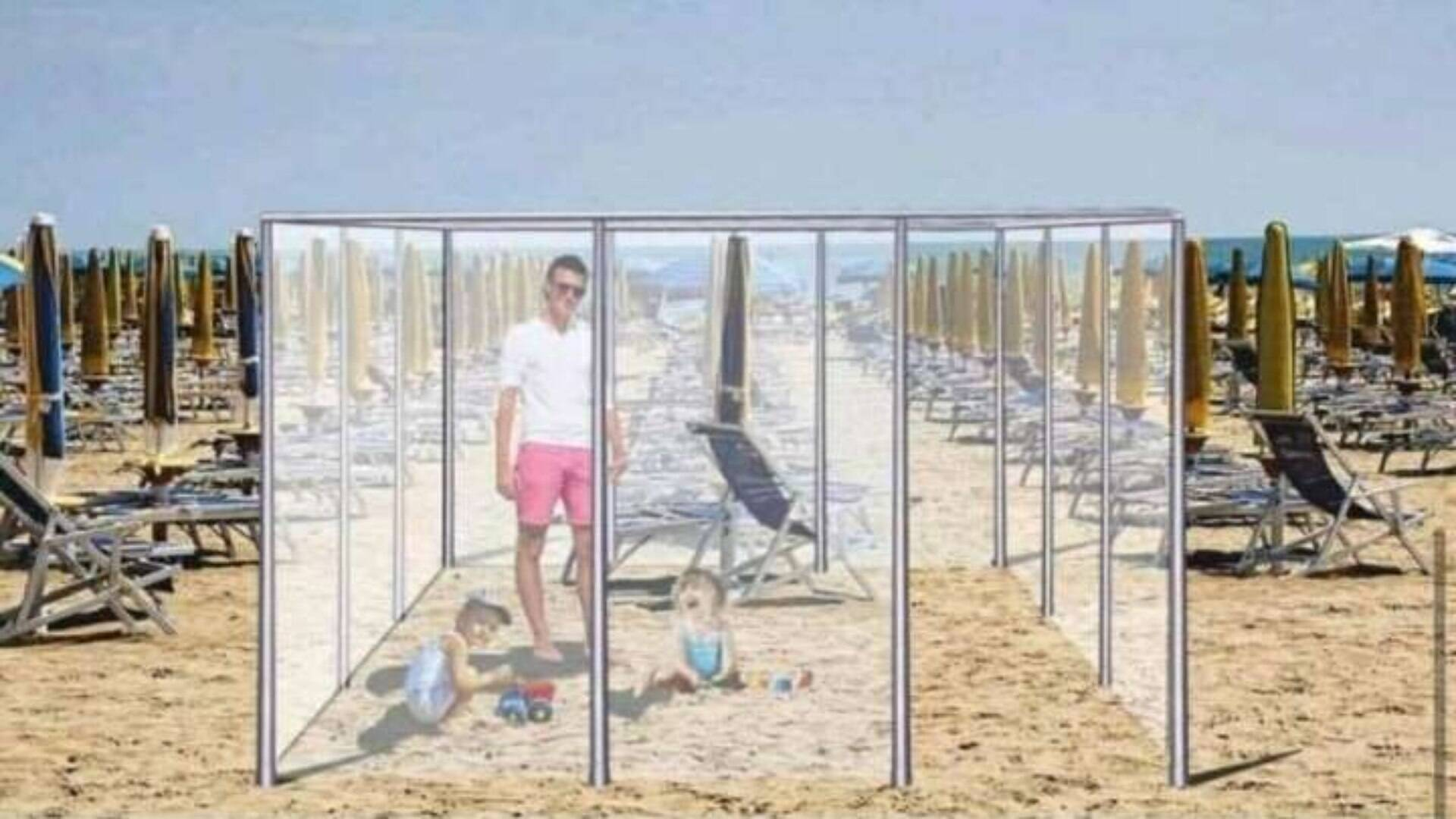 Europa tem projetos 'inovadores' para as praias pós-pandemia - Turismo - iG