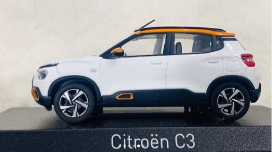 Novo Citroën C3: miniatura revela nome e como será o novo modelo da marca que chegará ao Brasil no fim do ano