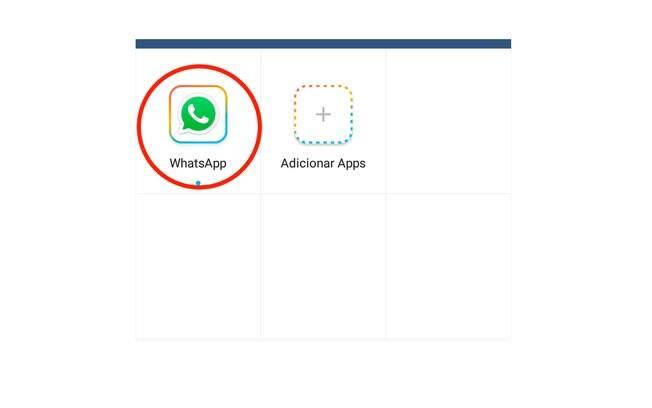 Basta selecionar o Whatsapp na lista de opções e o aplicativo abrirá normalmente. Sempre execute o aplicativo pelo Parallel Space.