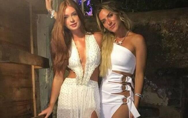 Marina Ruy Barbosa e Giovanna Ewbank