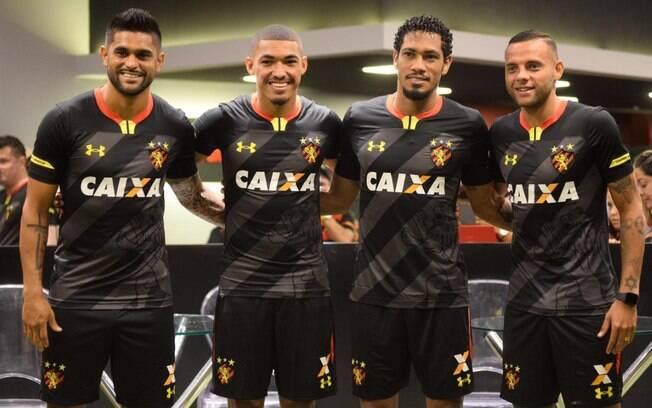 Uniforme três do Sport Recife foi lançado na última quinta-feira (07)