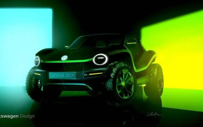 VW Buggy será atração da marca do Salão de Genebra, feito sob a plataforma de veículos elétricos MEB
