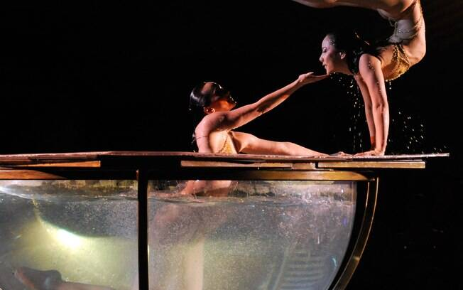 The Beatles Love, no hotel Mirage, é um dos sete espetáculos do Cirque du Soleil na cidade