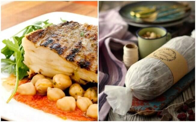 Bacalhau e salame de chocolate fazem parte da ampla quantidade de comidas típicas