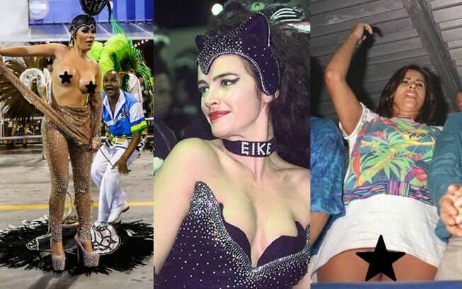 O carnaval, uma das maiores festas nacionais, já ficou marcado por muitas gafes, pérolas e saias justas que geraram muita polêmica
